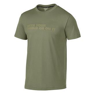 Oakley Shield T-Shirt Worn Olive