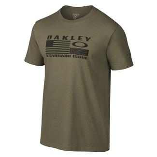 Oakley Flag T-Shirt Worn Olive