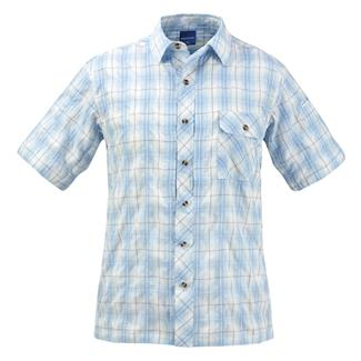 Propper Covert Button-Up Shirt Light Blue Plaid