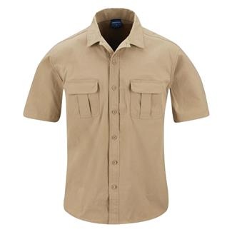 Propper Short Sleeve Summerweight Tactical Shirt Khaki