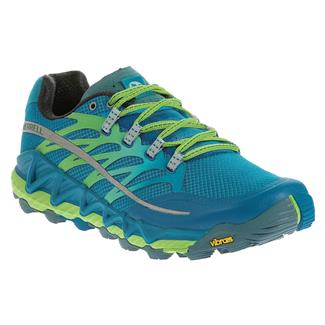 Merrell All Out Peak Racer Blue / Bright Green