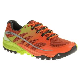 Merrell All Out Charge Spicy Orange / Lime Green