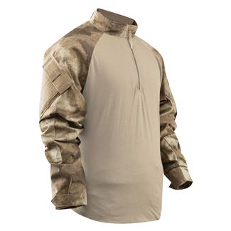 TRU-SPEC Nylon / Cotton 1/4 Zip Tactical Response Combat Shirt A-TACS AU