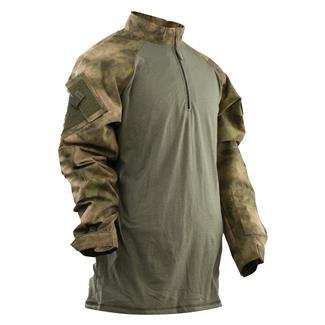 Tru-Spec Nylon / Cotton 1/4 Zip Tactical Response Combat Shirt A-TACS FG