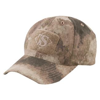 Tru-Spec Nylon / Cotton Ripstop Contractor Hat A-TACS AU