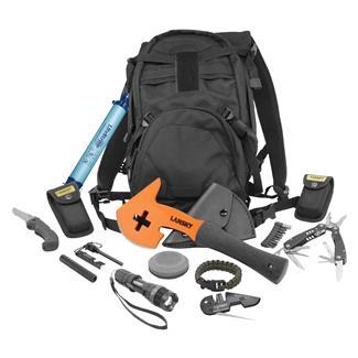 Lansky Tactical Apocalypse Survival Kit Backpack Black