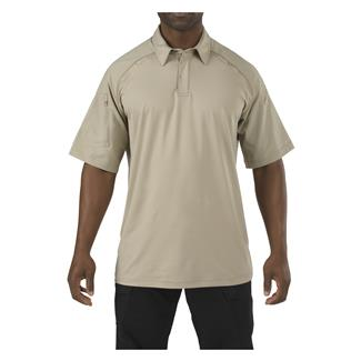5.11 Rapid Performance Polo Silver Tan