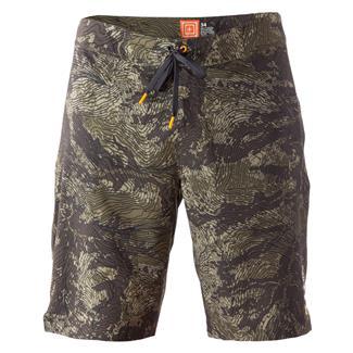 5.11 RECON Vandal Topo Shorts Battle Brown