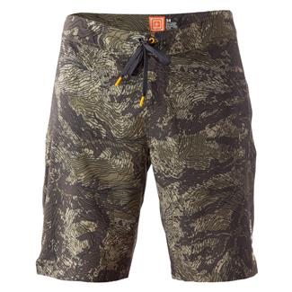 5.11 RECON Vandal Topo Shorts Battle Brown
