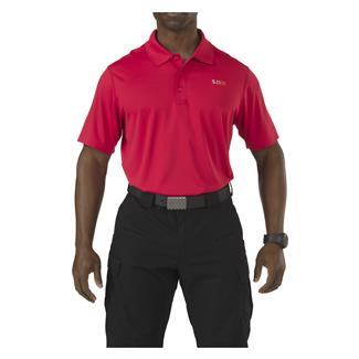 5.11 Pinnacle Polo Range Red