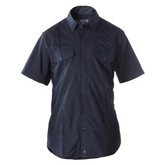 5.11 Short Sleeve Stryke PDU Class A Shirt Midnight Navy