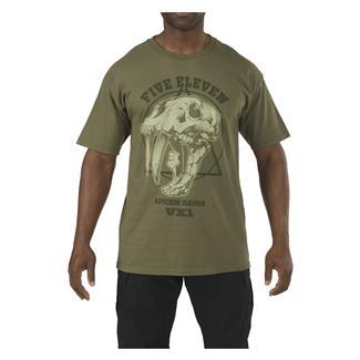5.11 Apex Predator T-Shirt OD Green