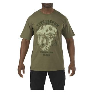 5.11 Apex Predator T-Shirt OD Green