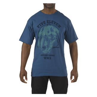 5.11 Apex Predator T-Shirt Harbor Blue