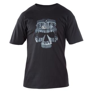 5.11 AR Skull T-Shirt Black