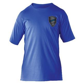 5.11 Chief Reed T-Shirt Royal Blue