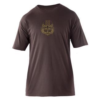 5.11 Owl T-Shirt Chocolate