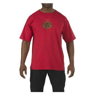 5.11 Owl T-Shirt Cardinal
