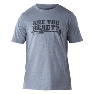 5.11 RECON Are You Ready T-Shirt Grey Heather