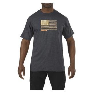 5.11 RECON Rope Ready T-Shirt Charcoal Heather