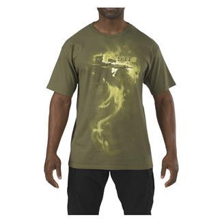 5.11 Smoke 'Em T-Shirt OD Green