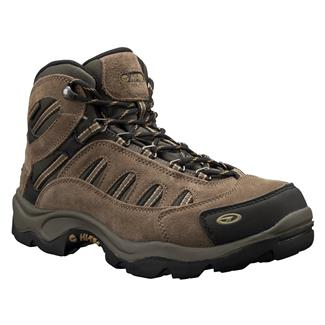 Hi-Tec Bandera Mid WP Bone / Brown / Mustard