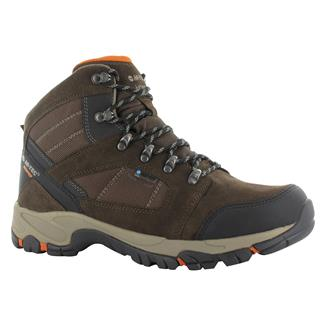 Hi-Tec Borah Peak i WP Dark Chocolate / Burnt Orange