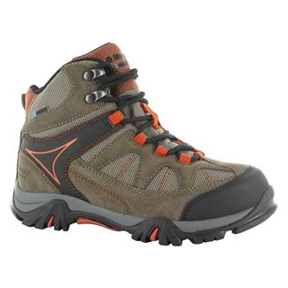 Kids' Hi-Tec Altitude Lite i JR WP Smokey Brown / Taupe / Red Rock