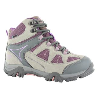 Kids' Hi-Tec Altitude Lite i JR WP Warm Gray / Orchid / Horizon