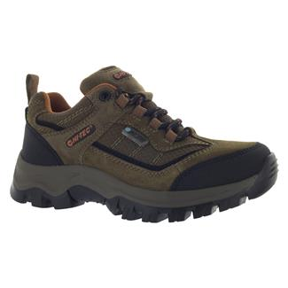 Kids' Hi-Tec Hillside Low JR WP Brown / Orange