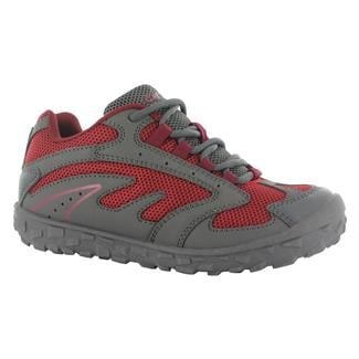 Kids' Hi-Tec Meridian JR WP Charcoal / Lingon / Port