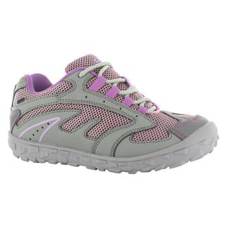 Kids' Hi-Tec Meridian JR WP Steel Gray / Horizon / Orchid