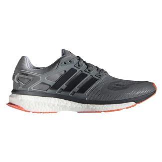 Adidas Energy Boost 2 Vista Gray / Dark Gray / Solar Red