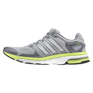 Adidas Adistar Boost ESM Clear Onyx / Silver Metallic / Light Flash Yellow