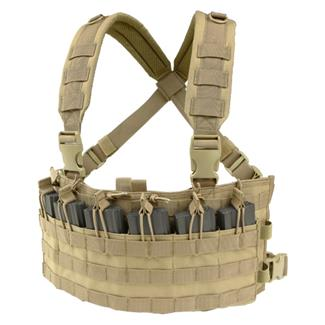 Condor MCR6 Rapid Assault Chest Rig Tan