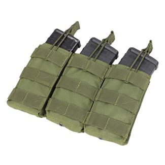 Condor Triple M4/M16 Open-Top Mag Pouch OD Green