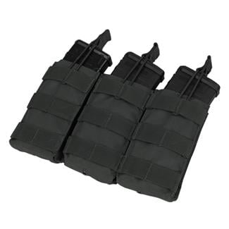 Condor Triple M4/M16 Open-Top Mag Pouch Black