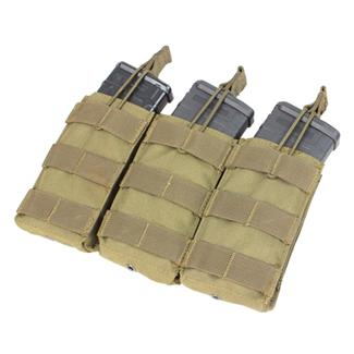 Condor Triple M4/M16 Open-Top Mag Pouch Tan