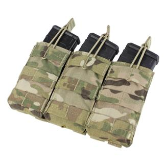 Condor Triple M4/M16 Open-Top Mag Pouch MultiCam