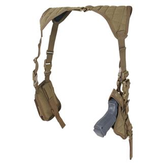 Condor Vertical Shoulder Holster Tan