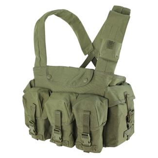 Condor 7 Pocket Chest Rig OD Green