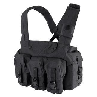 Condor 7 Pocket Chest Rig Black