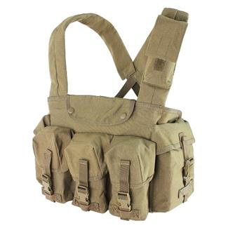 Condor CR 7 Pocket Chest Rig Tan