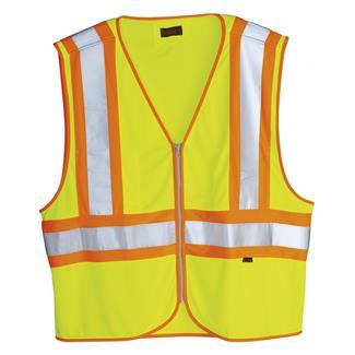 Wolverine Mile Marker Vest Hi Vis Green