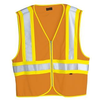 Wolverine Mile Marker Vest Hi Vis Orange