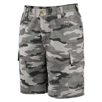 Wolverine Whitepine Cargo Shorts Gray Camo