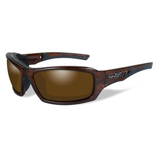 Wiley X Echo Matte Layered Tortoise (frame) - Polarized Amber (lens)