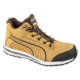 Puma Safety Dash Mid CT Wheat
