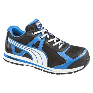 Puma Safety Aerial Low CT Black / Blue