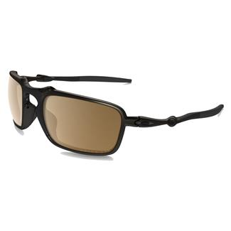 Oakley Badman Tungsten Iridium Polarized Pewter